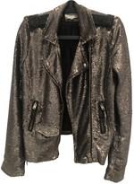 IRO Metallic Leather Jackets