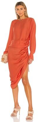 L'Academie the Geni Midi Dress