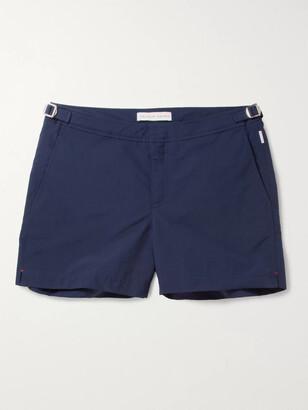 Orlebar Brown Setter Slim-Fit Short-Length Striped Swim Shorts - Men - Blue