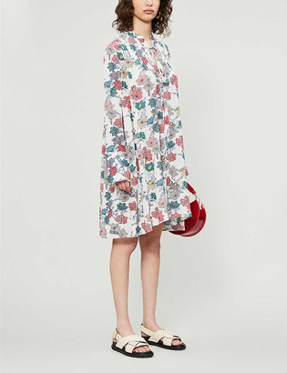 Zadig & Voltaire Raika floral-print crepe mini dress