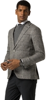 Tommy Hilfiger Tailored Collection Unlined Glen Plaid Blazer