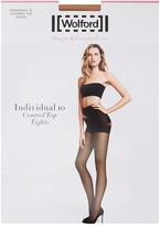 Wolford Individual Sand Control-top 10 Denier Tights