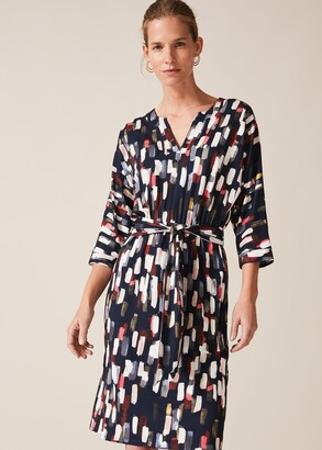 Phase Eight Jinny Smudge Print Dress