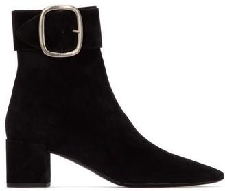 Saint Laurent Joplin 50 Ankle Strap Boots