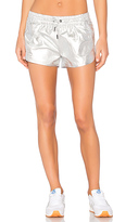 ALALA Fuel Short in Metallic Silver. - size L (also in M)