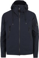 C.p. Company Navy Hooded Pro-tek Jacket