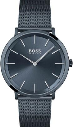 HUGO BOSS Skyliner Mesh Strap Watch, 40mm