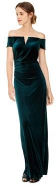Xscape Evenings X by Velvet Off-The-Shoulder Gown