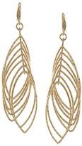 ABS by Allen Schwartz Multi Ring Gypsy Drop Earrings