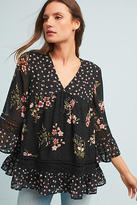 Maeve Steffy Bell-Sleeve Blouse
