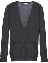 Charcoal Long Fitted Cardigan
