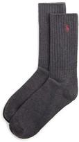 Polo Ralph Lauren Ribbed Crew Socks