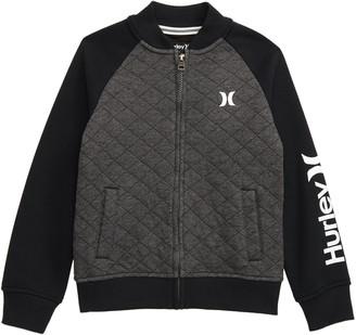 Hurley Quilted Fleece Varsity Jacket