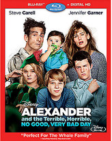Disney Alexander and the Terrible, Horrible, No Good, Very Bad Day Blu-ray