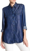 Foxcroft Western Yoke Chambray Shirt