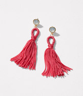 LOFT Tassel Statement Earrings