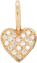 Chicco Zoe Bitty Diamond Pave Heart Charm
