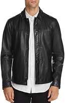 Scotch & Soda Leather Shirt Jacket - 100% Exclusive