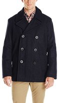 Tommy Hilfiger Men's Wool-Blend Melton Classic Peacoat