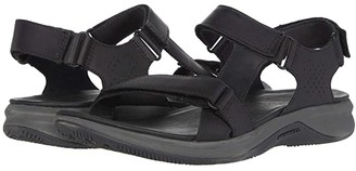 Merrell Tideriser Luna Strap Leather (Black) Men's Shoes
