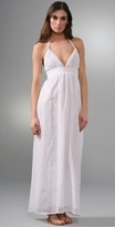 T-bags Long Halter Dress