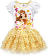 Disney Girls Dress, Little Girls Belle Tutu Dress