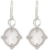 Jude Frances Lisse 18K Rose Quartz & Diamond Dangle & Drop Earrings