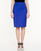 Le Château Double Weave Pencil Skirt