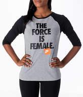 Nike Women's Sportswear Force Raglan T-Shirt