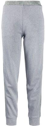 Moncler Side-Stripe Logo-Patch Track Pants