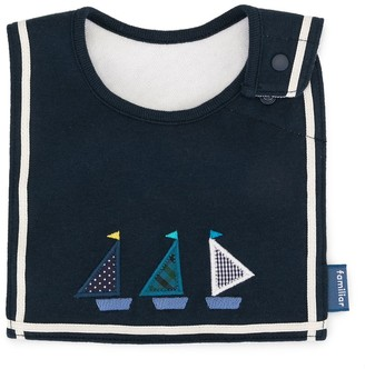 Familiar Boats Bib Scarf