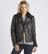 UGG Women's Leather Cycle Jacket