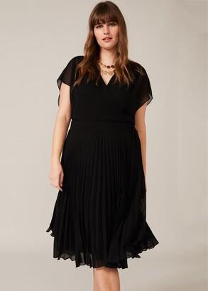 Phase Eight Jamie Pleated Midi Dress