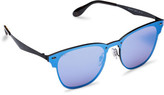 Ray-Ban Steel Unisex Sunglasses