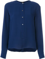 Theory button up blouse
