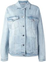Stella McCartney embroidered star denim jacket