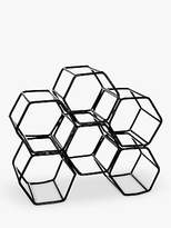 John Lewis Honeycomb Metal Wine Rack, 6 Bottles