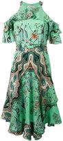 Etro - robe imprimée à épaules
