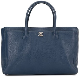 Chanel Pre Owned 2014 Executive CC tote