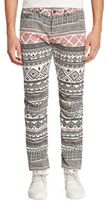 G Star Straight-Fit Glyph Printed Jeans