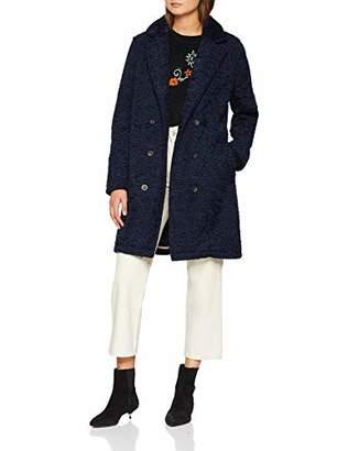 True Religion Women's Curly Coat (Dark Blue 4819), (Size: XL)