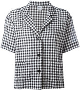 Aspesi checked shortsleeved shirt - women - Cotton - 40