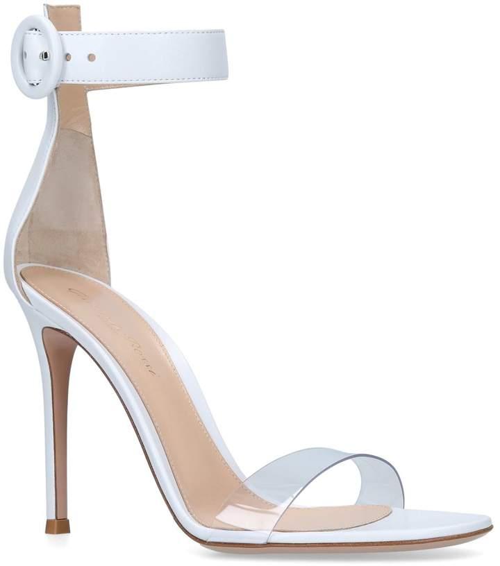 Gianvito Rossi Leather Stella Sandals 105