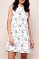 Yumi Paper Lace Swing Dress