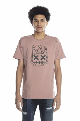 Cult of Individuality Men's Short Sleeve Crew Neck TEE Scribble SHIMUCHAN Logo