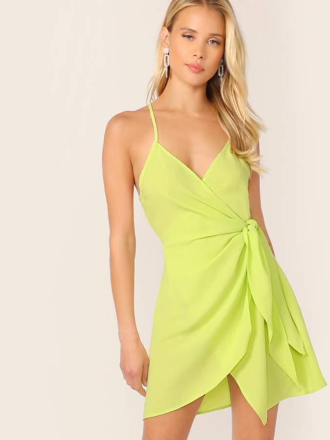 716ce893a9c7 Neon Slip Dress - ShopStyle