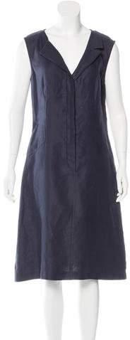 Chanel Linen Sleeveless Dress