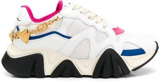 Versace Squalo logo jewel sneakers