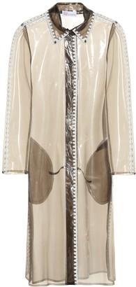 RED Valentino Semi-transparent raincoat