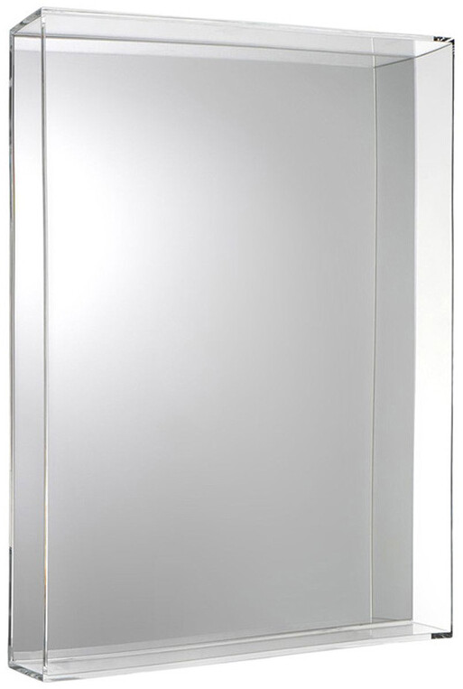 Kartell Only Me Mirror - Crystal - 50x70cm